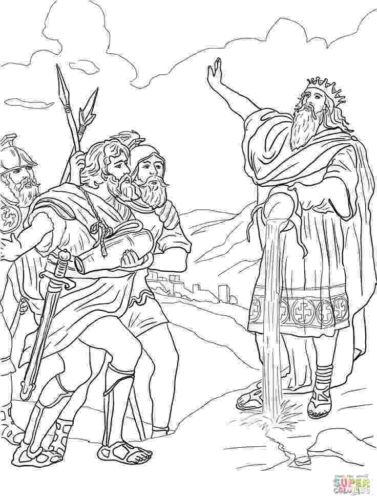 david coloring page coloring picture of david39s mighty men google search coloring page david