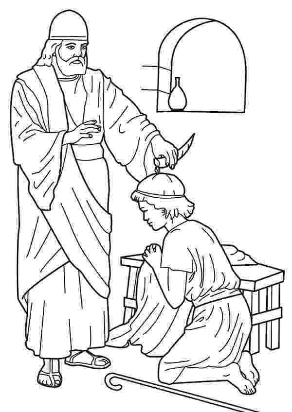 david coloring page samuel anoints saul coloring page 2016 discipleland coloring david page