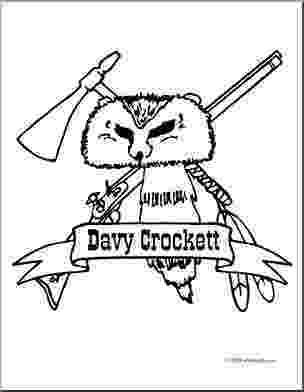 davy crockett coloring page famous historical figure coloring pages page 3 crockett page coloring davy