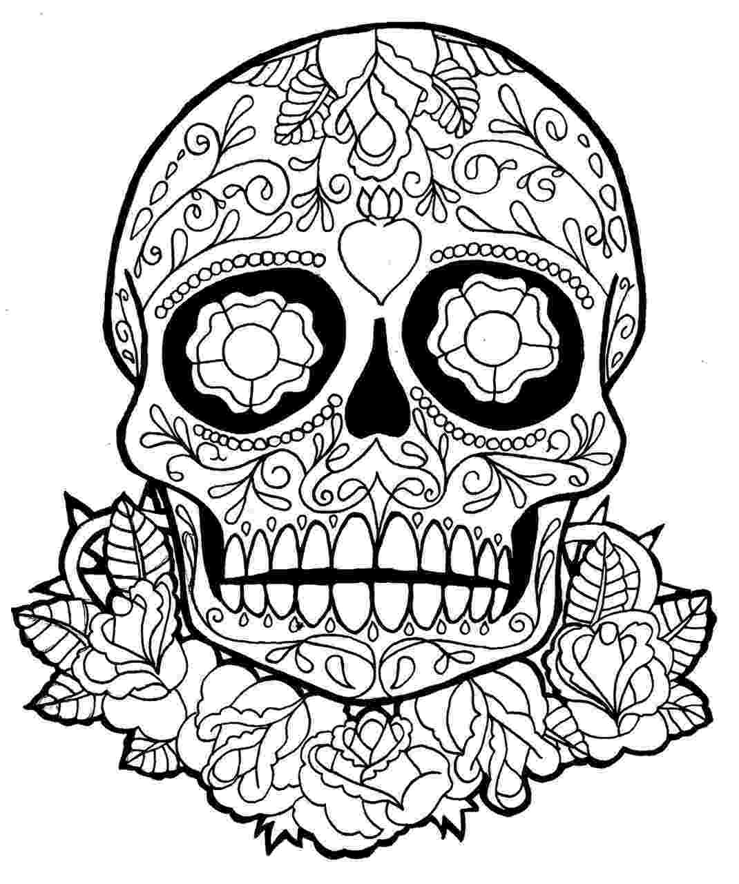 day of the dead coloring skulls dia de los muertos coloring pages to download and print coloring of the skulls dead day