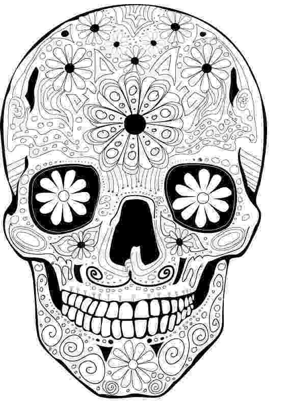 day of the dead coloring skulls dia de los muertos on pinterest day of the dead dia of dead coloring day the skulls