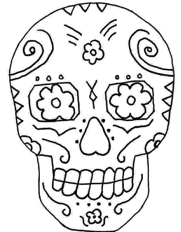 day of the dead coloring skulls free printable day of the dead coloring pages best coloring dead the of skulls day