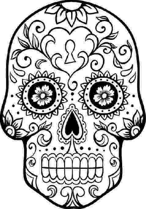 day of the dead coloring skulls free printable day of the dead coloring pages best of day coloring dead skulls the