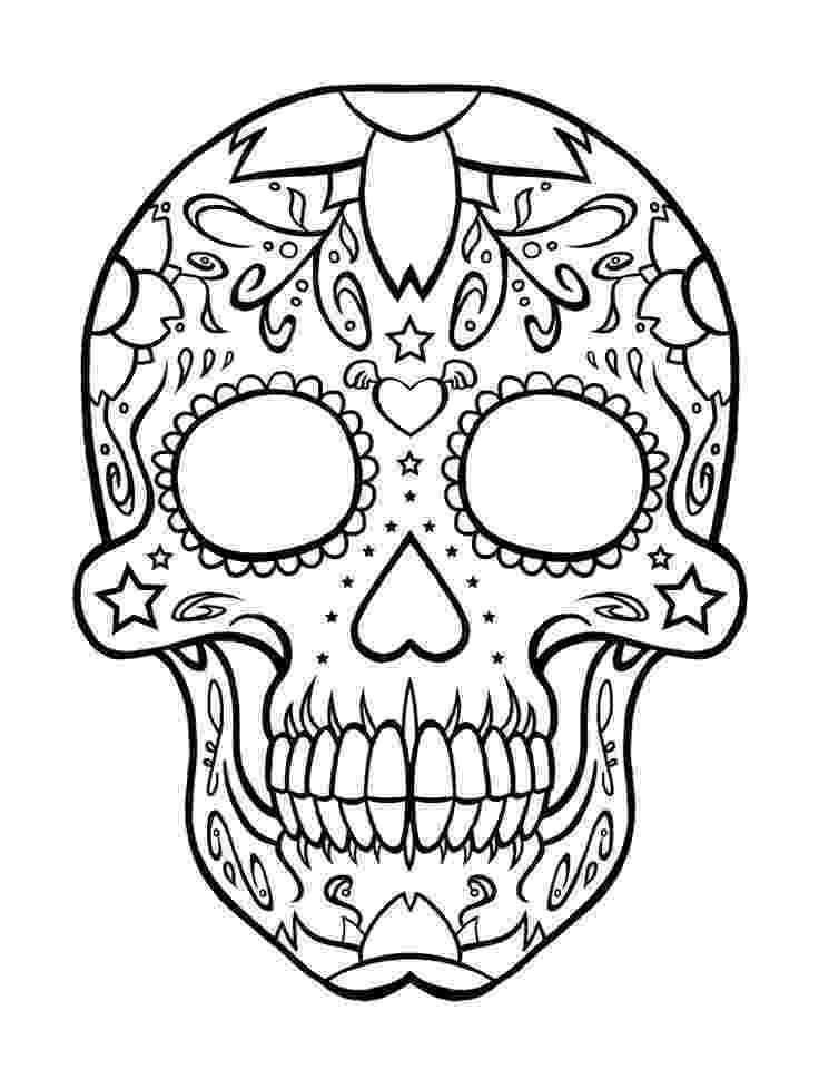 day of the dead coloring skulls free skulls day of the dead coloring pages adult skulls day coloring of the dead