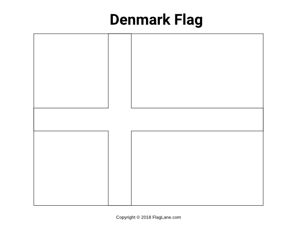 denmark flag coloring page free european flag coloring pages denmark flag page coloring