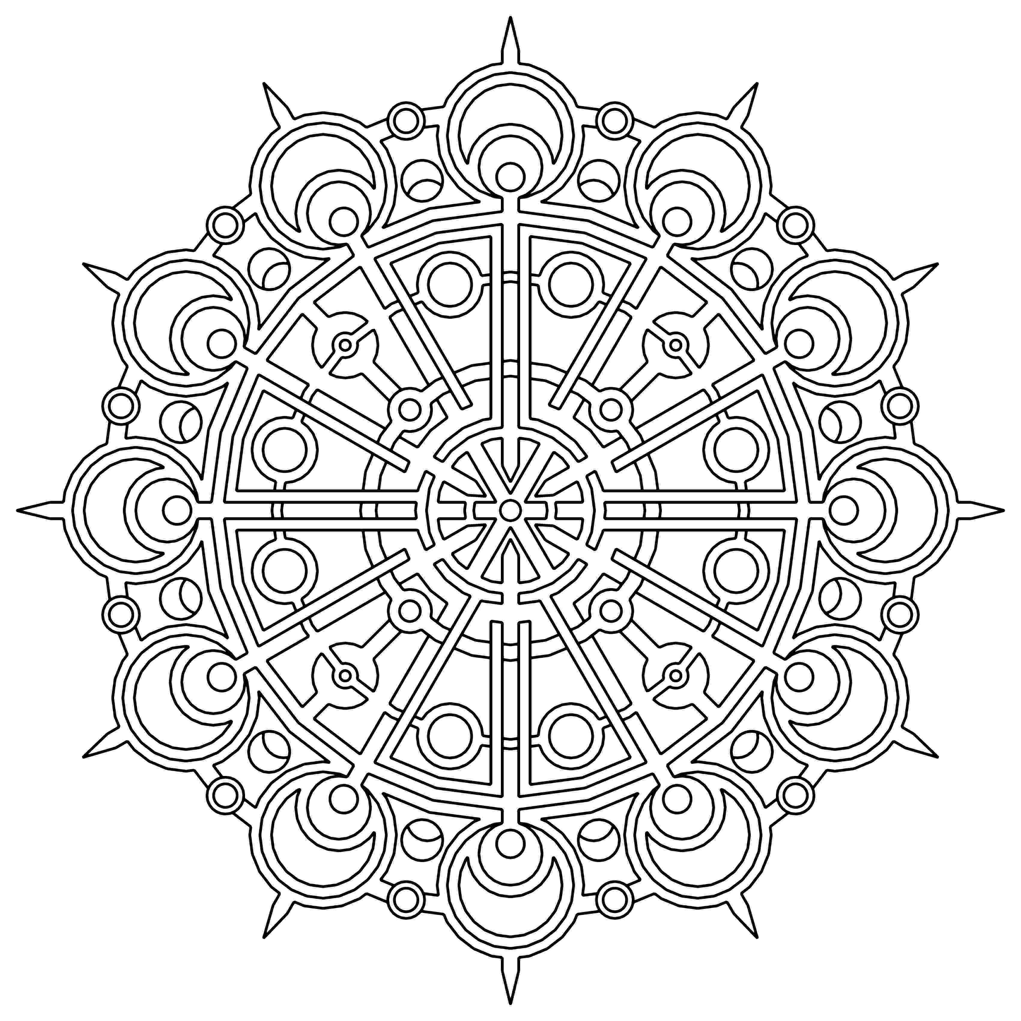 design coloring page free printable geometric coloring pages for kids design coloring page