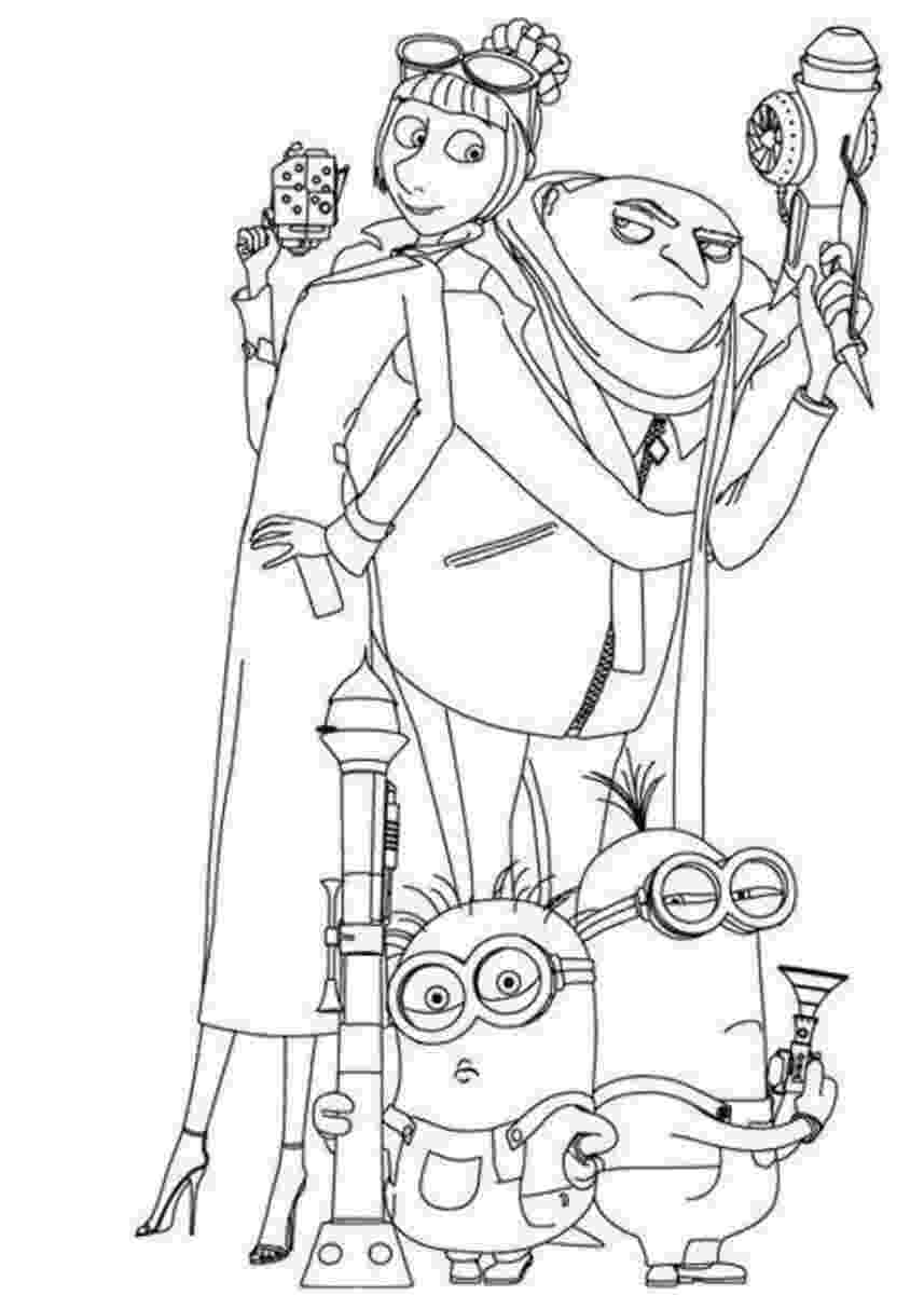 despicable me 2 free coloring pages to print despicable me 2 coloring pages getcoloringpagescom pages coloring 2 me free to print despicable