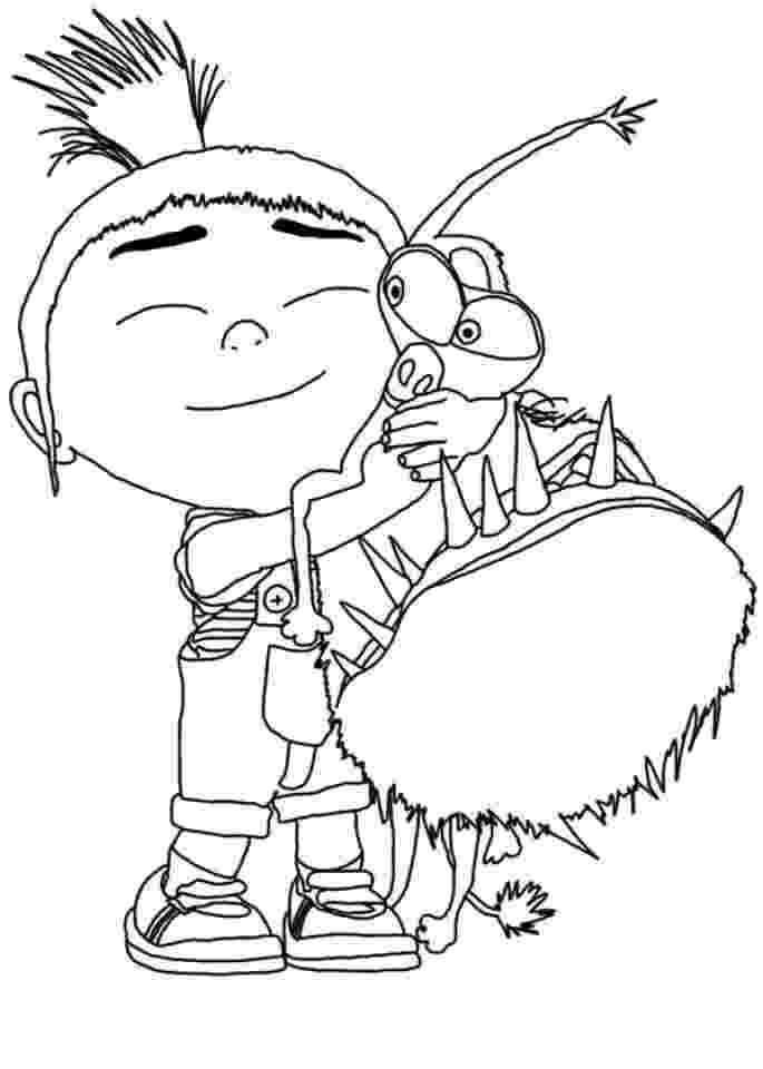 despicable me 2 free coloring pages to print despicable me agnes coloring pages getcoloringpagescom to free despicable 2 print coloring me pages