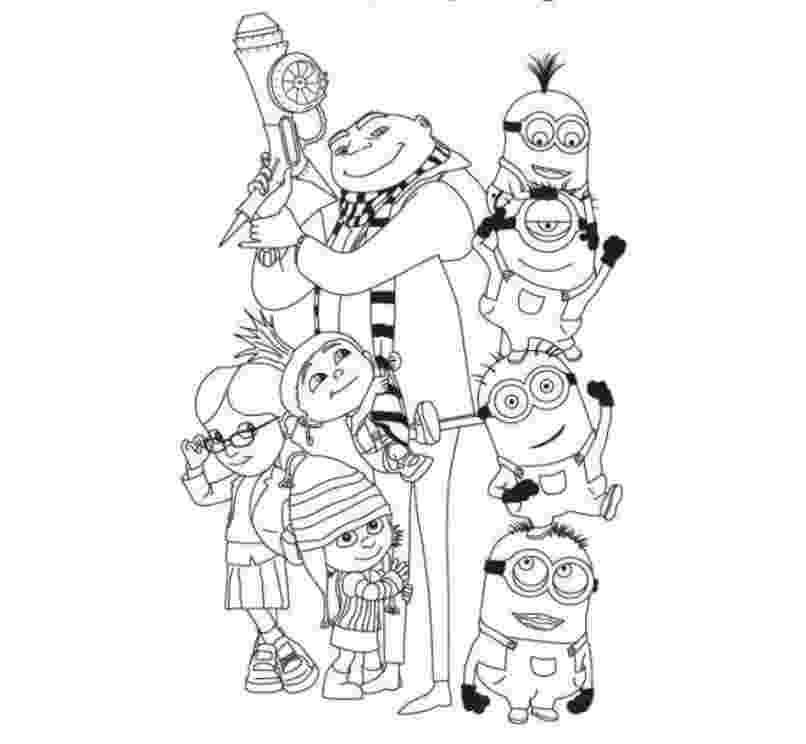 despicable me 2 free coloring pages to print get this despicable me coloring pages to print 16sh2 free despicable coloring to me print pages 2