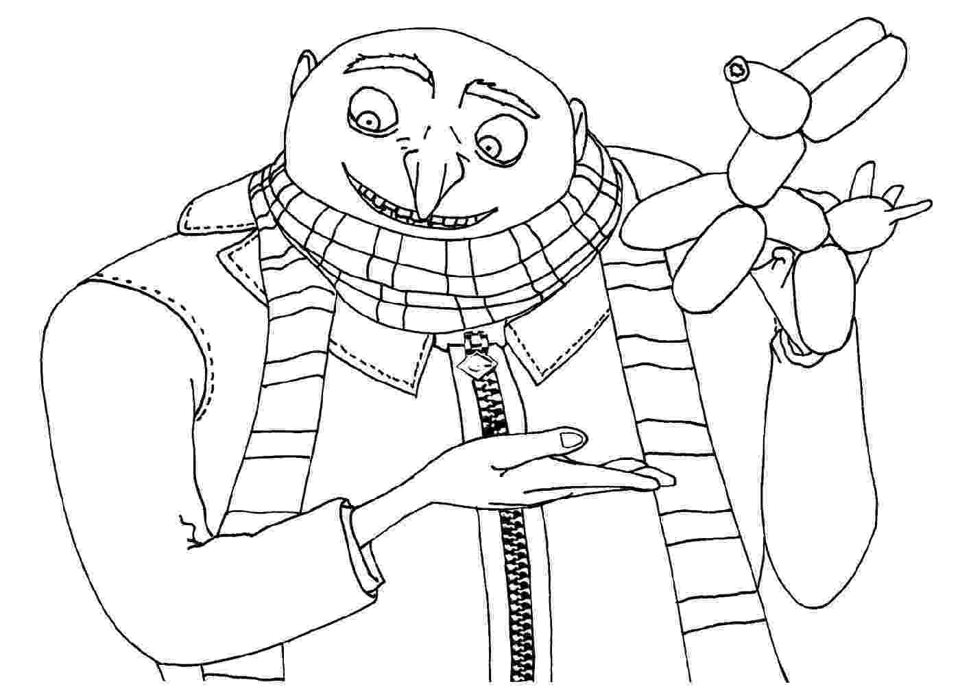 despicable me printables despicable me 3 coloring pages to download and print for free printables despicable me