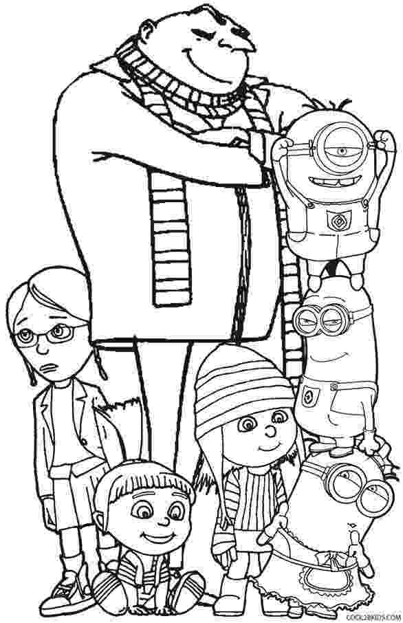 despicable me printables printable despicable me coloring pages for kids cool2bkids me printables despicable