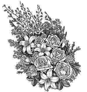 detailed flower coloring pages amazingly exquisite free printable coloring pages of pages flower detailed coloring