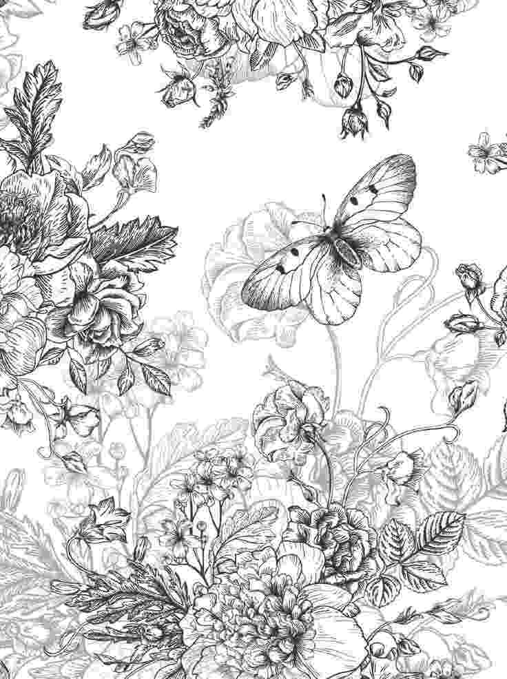 detailed flower coloring pages beautiful flowers detailed floral designs coloring book pages coloring detailed flower