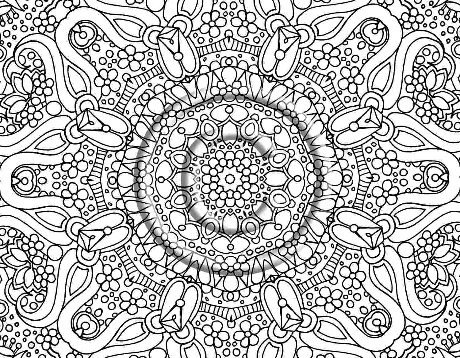 detailed flower coloring pages detailed flower coloring pages to download and print for free flower detailed pages coloring
