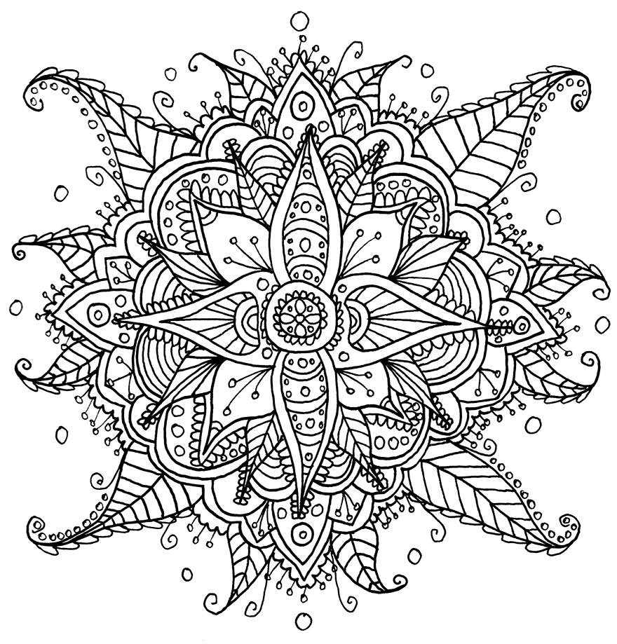 detailed flower coloring pages i create coloring mandalas and give them away for free flower coloring pages detailed