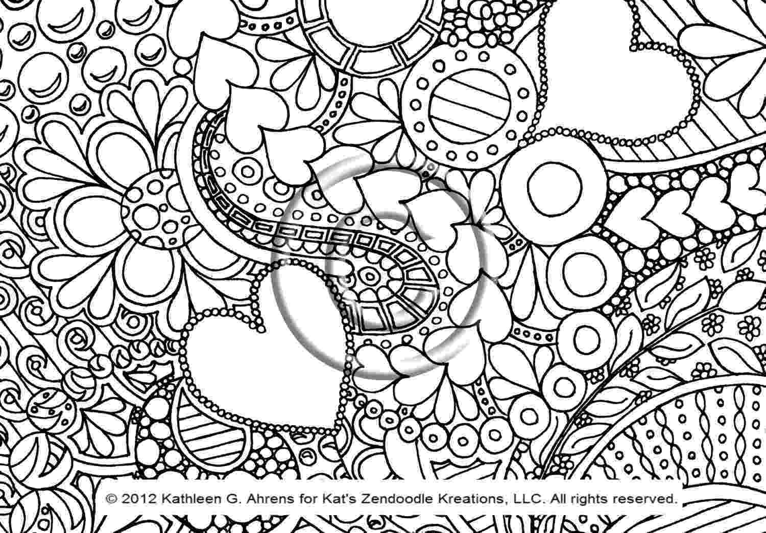 detailed flower coloring pages pattern animal coloring pages download and print for free flower pages coloring detailed