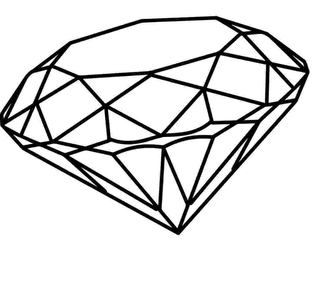 diamond coloring pages diamond coloring page at getcoloringscom free printable coloring diamond pages