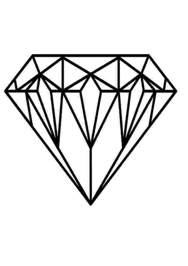 diamond coloring pages diamond coloring pages kidsuki coloring diamond pages