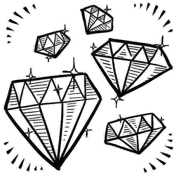 diamond coloring pages diamond shape gem sketches coloring pages kids play color pages coloring diamond