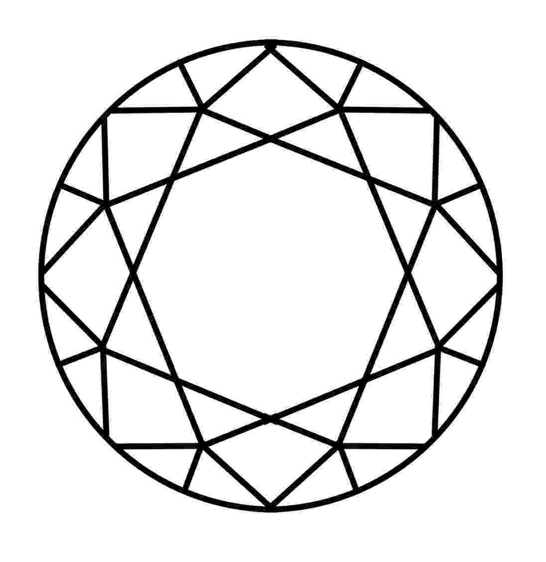 diamond coloring pages precious stones coloring pages to download and print for free diamond pages coloring