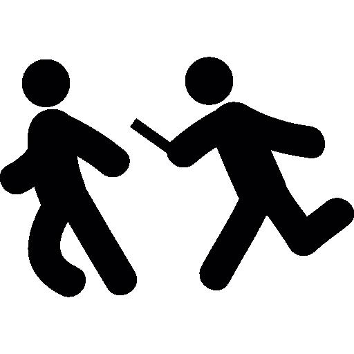 dibujos de relevos relay runners free people icons relevos de dibujos