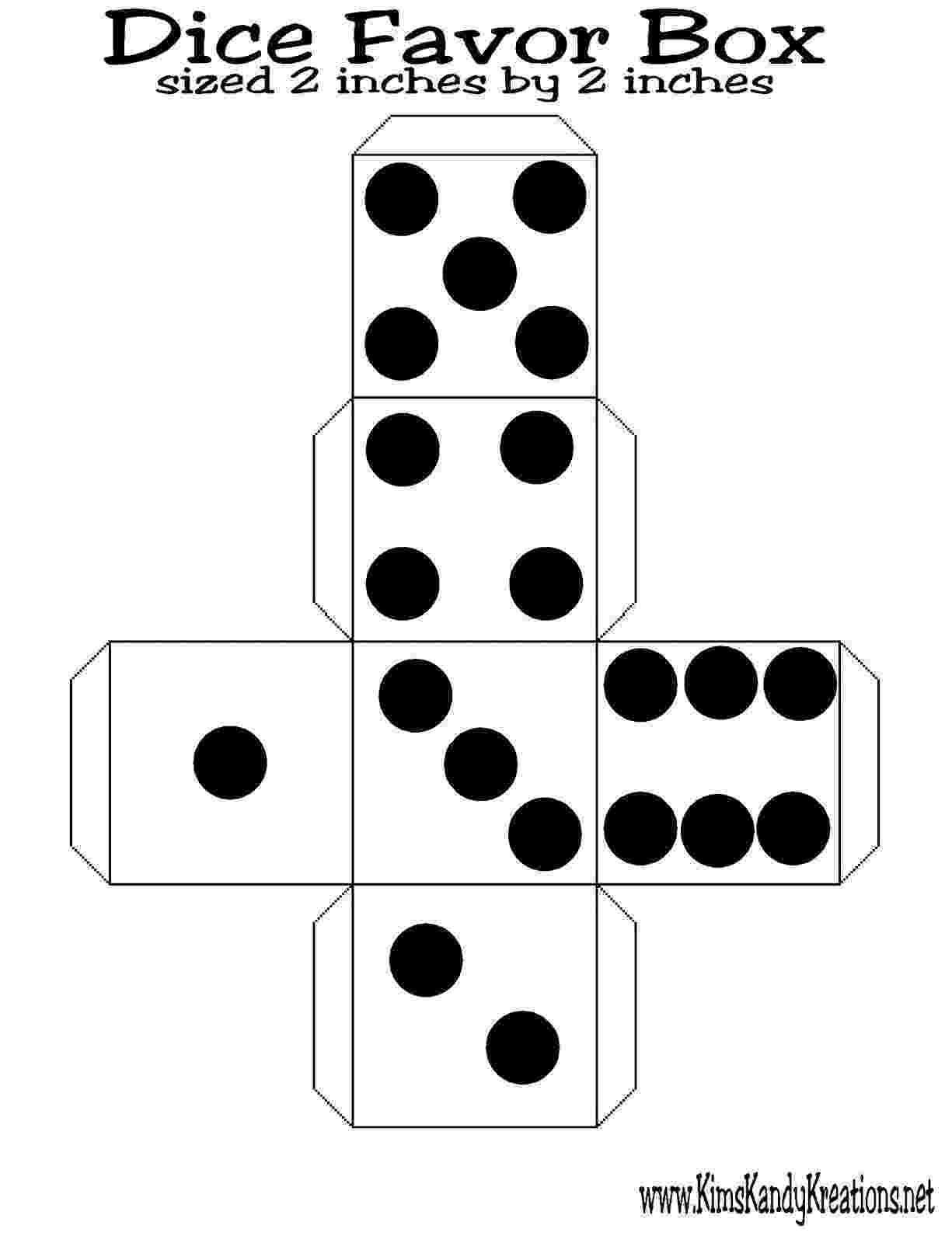 dice print dice template by nicole bennett teachers pay teachers dice print