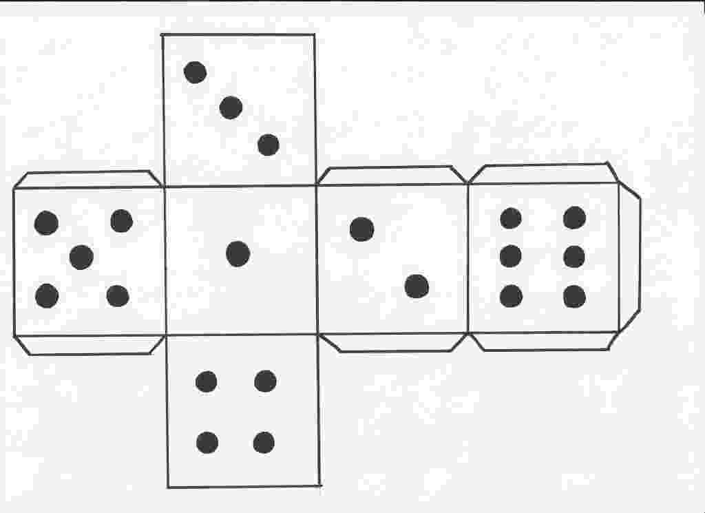 dice print how to make a dice hubpages print dice