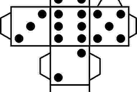 dice print printable paper dice template pdf make your own 6 10 print dice 1 1