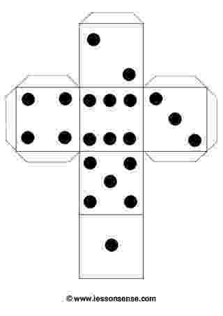dice print subitising order rhythm and pattern dice print