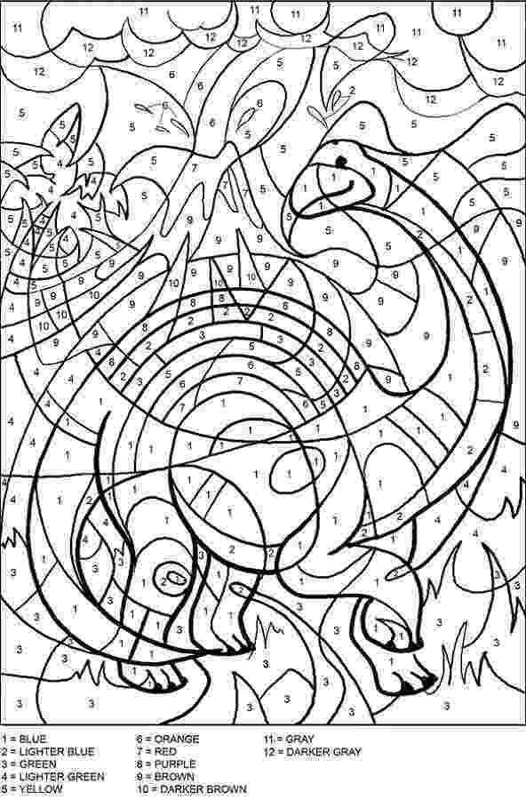 difficult color by number coloring pages for teenagers difficult color by number difficult by color number