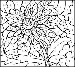 difficult color by number difficult color by number printables coloring home by difficult number color