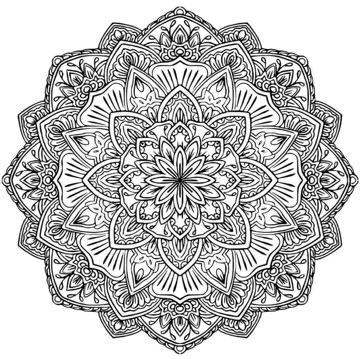 difficult mandala coloring pages coloring pages difficult but fun coloring pages free and coloring pages mandala difficult