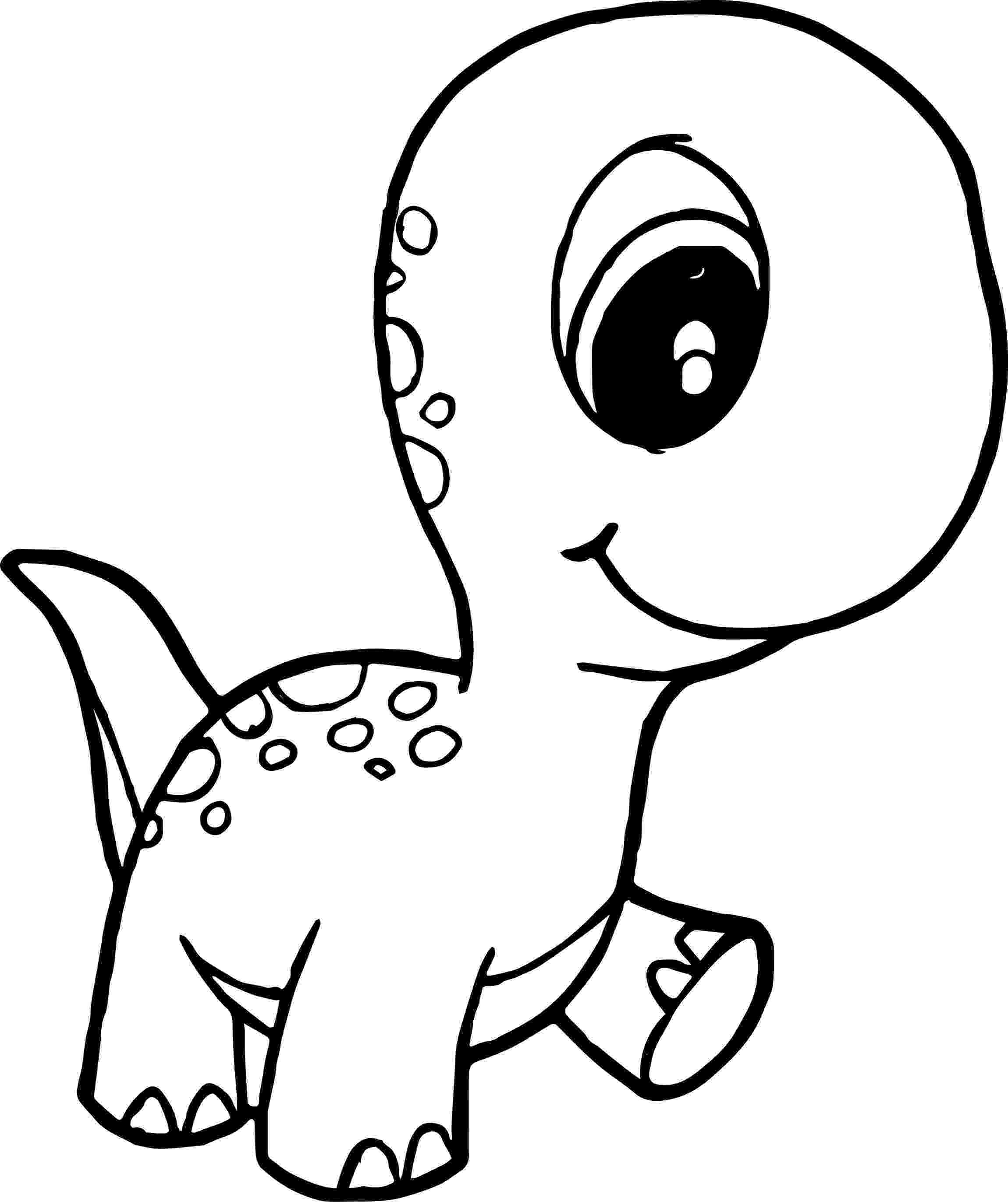dinosaur color page baby dinosaur coloring pages for preschoolers activity color page dinosaur