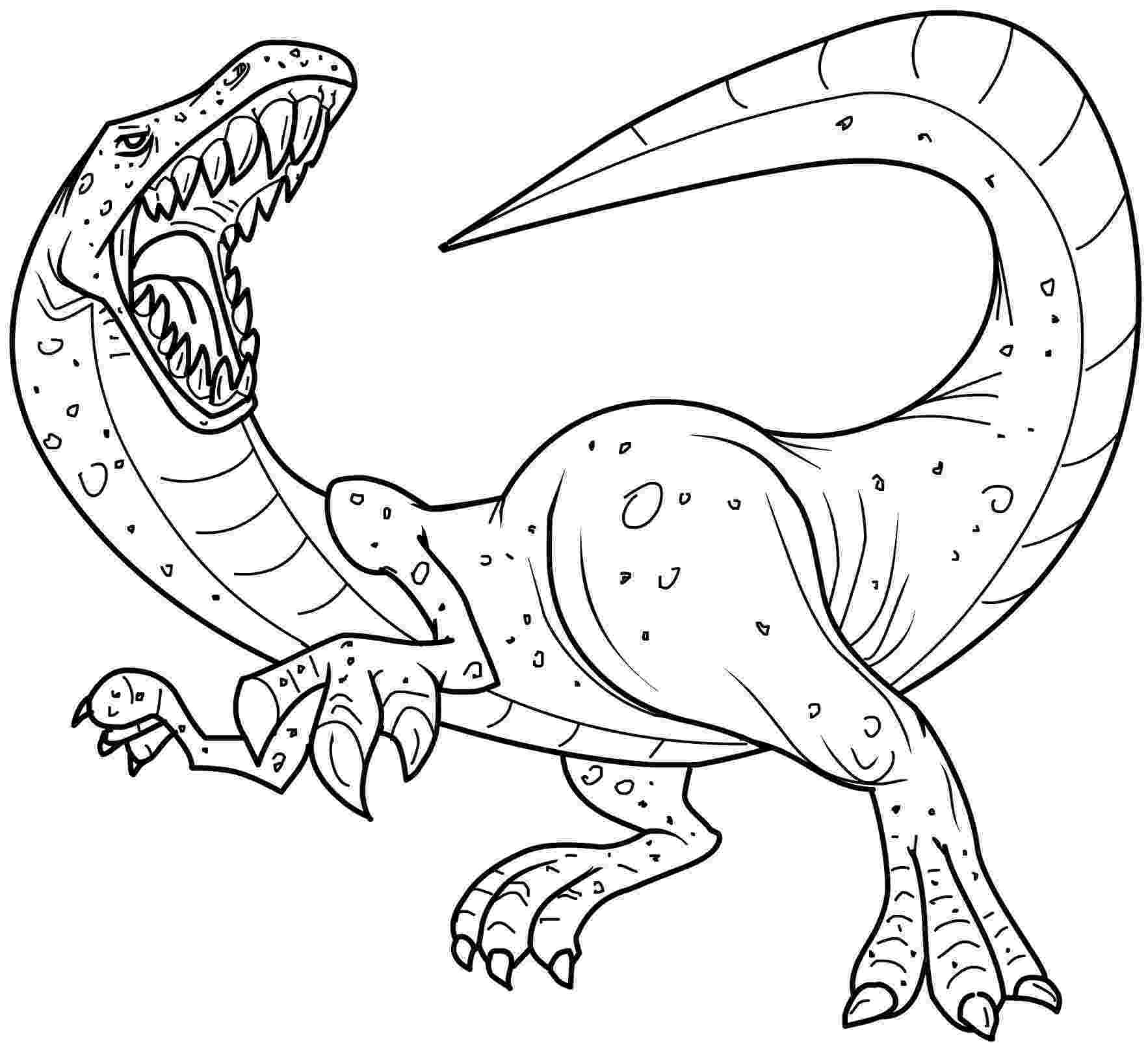 dinosaur color page free printable dinosaur coloring pages for kids dinosaur page color