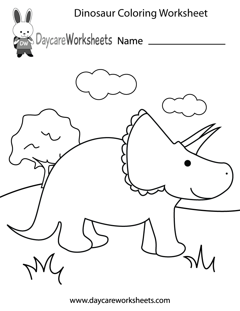 dinosaur coloring pages for preschoolers walking cute dino coloring printout download free pages for preschoolers coloring dinosaur