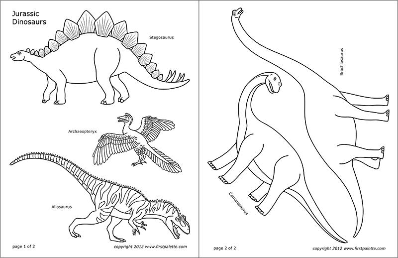 dinosaur printables standing paper dinosaurs kids39 crafts fun craft ideas dinosaur printables