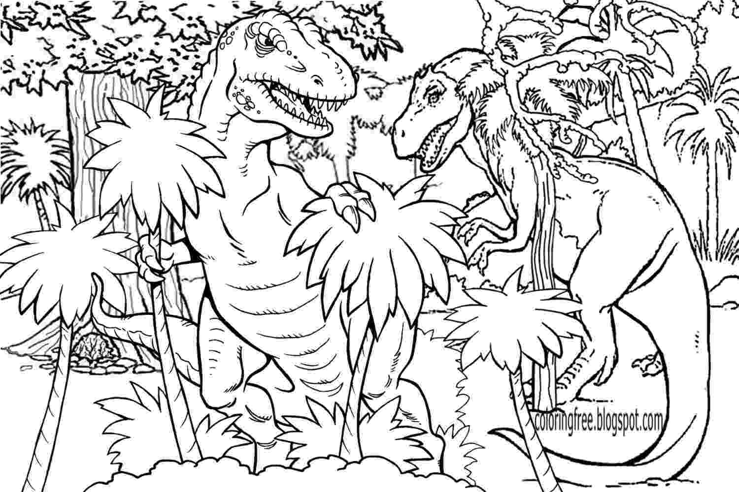 dinosuar coloring pages lets coloring book prehistoric jurassic world dinosaurs coloring dinosuar pages