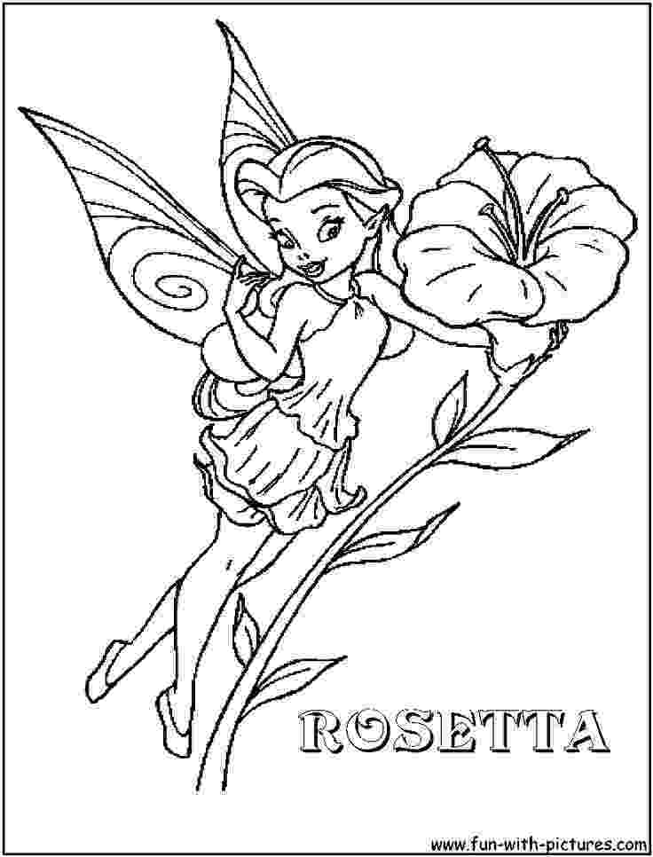 disney fairy rosetta coloring pages picture of fairy rosetta in pixie coloring page netart pages fairy coloring rosetta disney