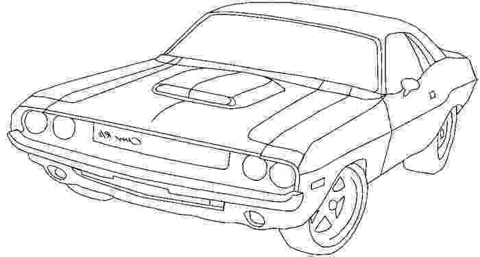 dodge coloring pages 1970 dodge challenger drawing at getdrawingscom free coloring pages dodge