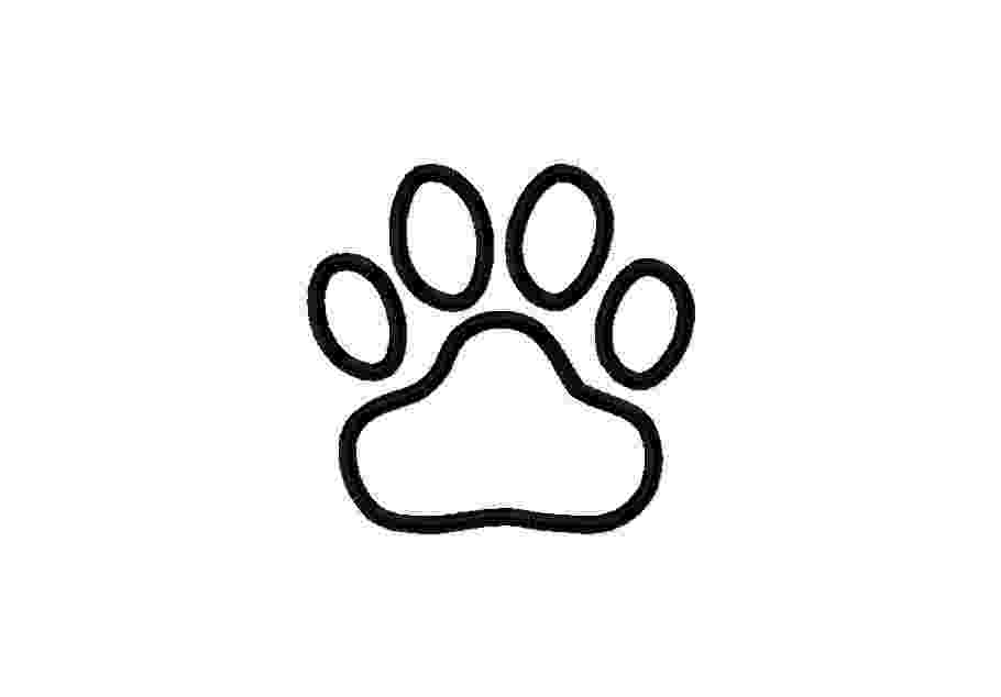 dog paw coloring page blues clues paw print coloring page clipart best page paw coloring dog