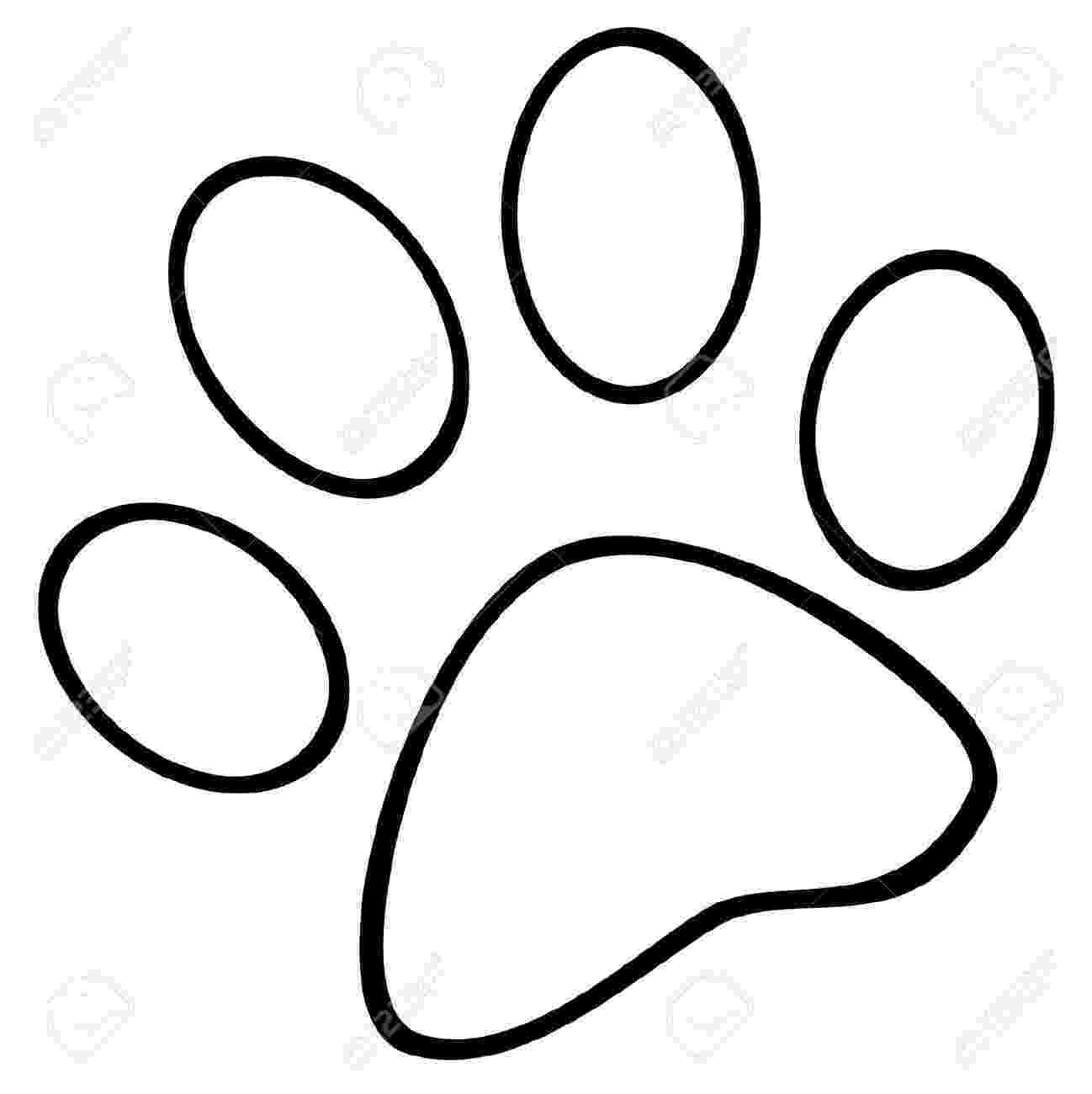 dog paw coloring page dog paw coloring page at getcoloringscom free printable page coloring paw dog 1 1
