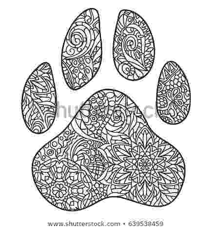 dog paw coloring page dog paw print drawing at getdrawings free download dog page paw coloring