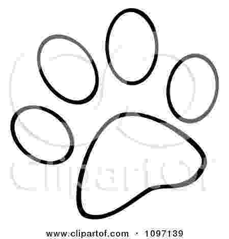 dog paw coloring page dog paw print outline clipartsco paw coloring page dog
