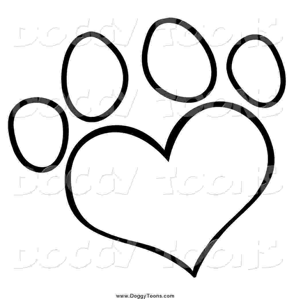 dog paw coloring page dog paw print template clipart best dog coloring paw page