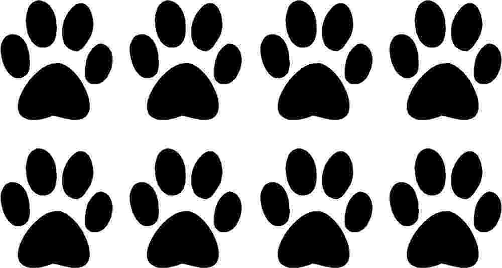 dog paw coloring page dog paw print template clipartsco paw dog page coloring
