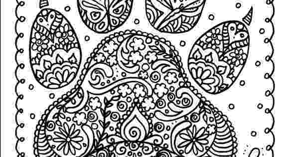 dog paw coloring page royalty free logo of a black and white heart shaped dog dog coloring paw page
