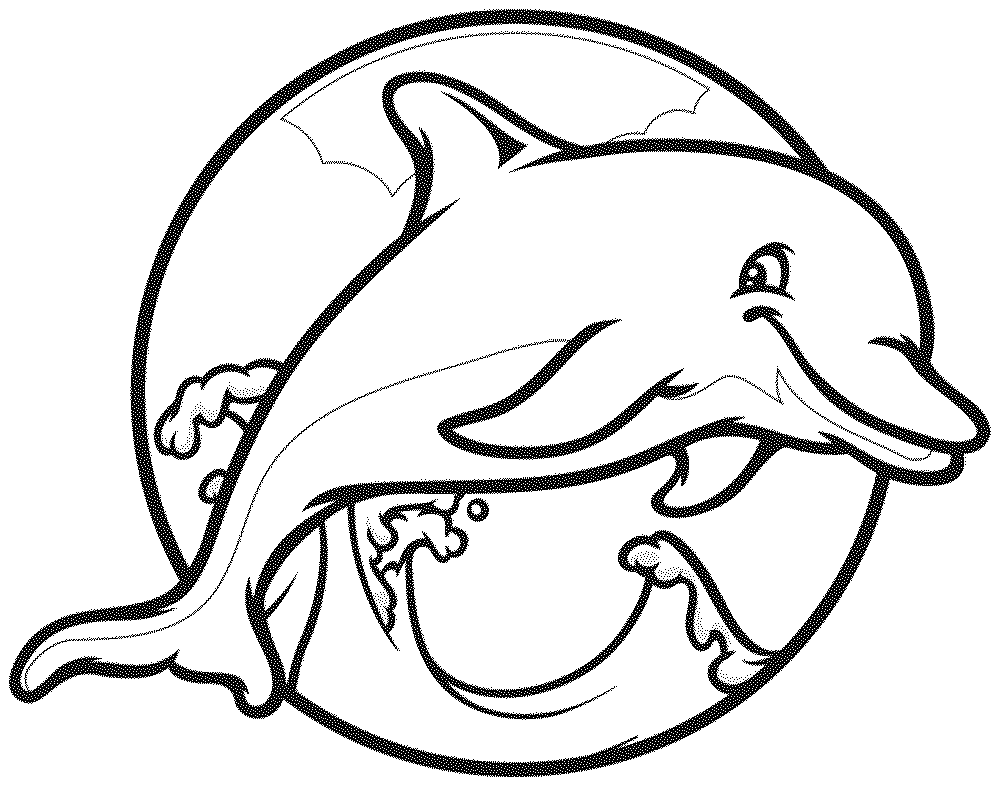 dolphin coloring pages to print dolphin coloring pages download and print for free pages print dolphin coloring to