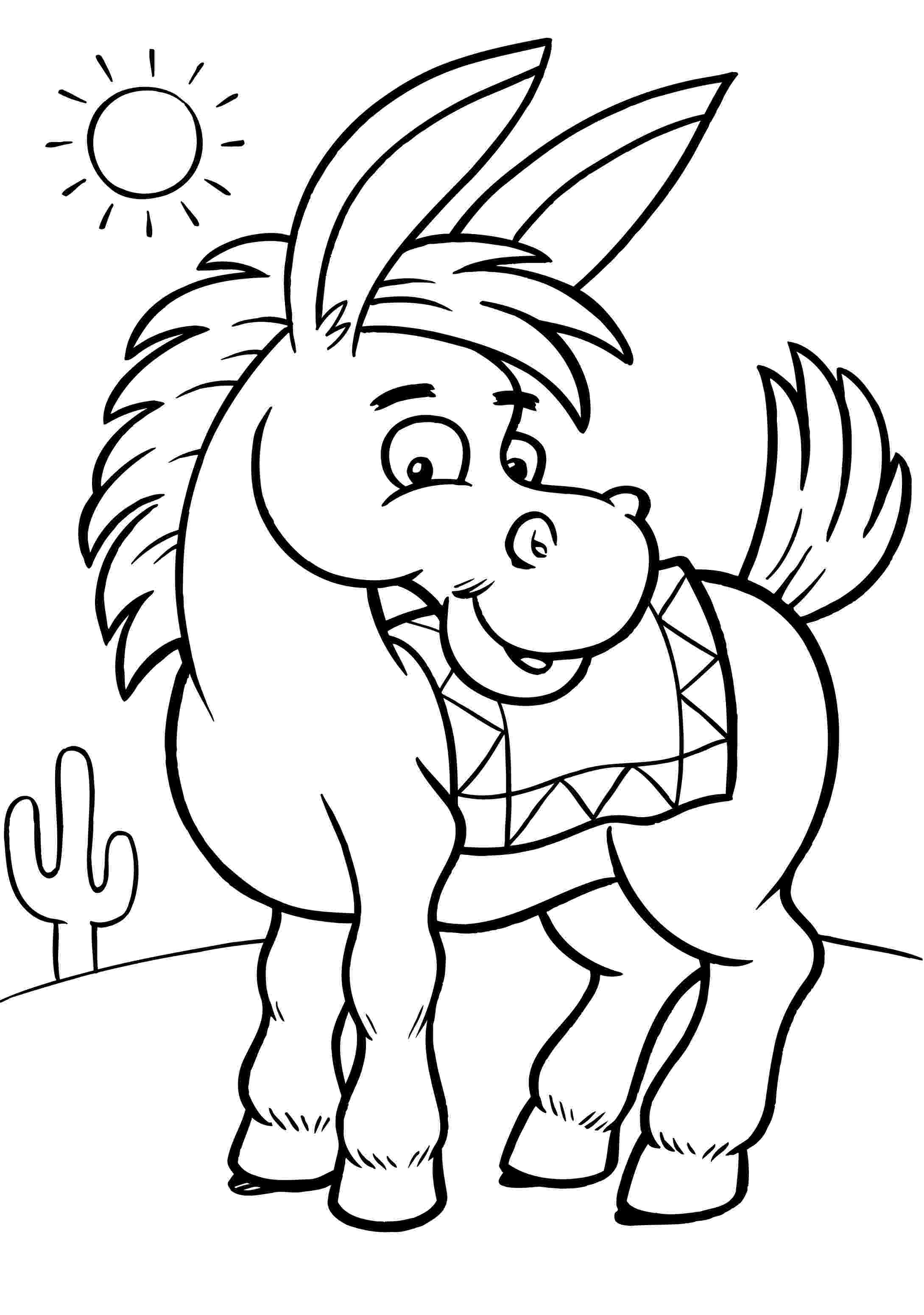 donkey pictures to colour free printable donkey coloring pages for kids colour donkey pictures to