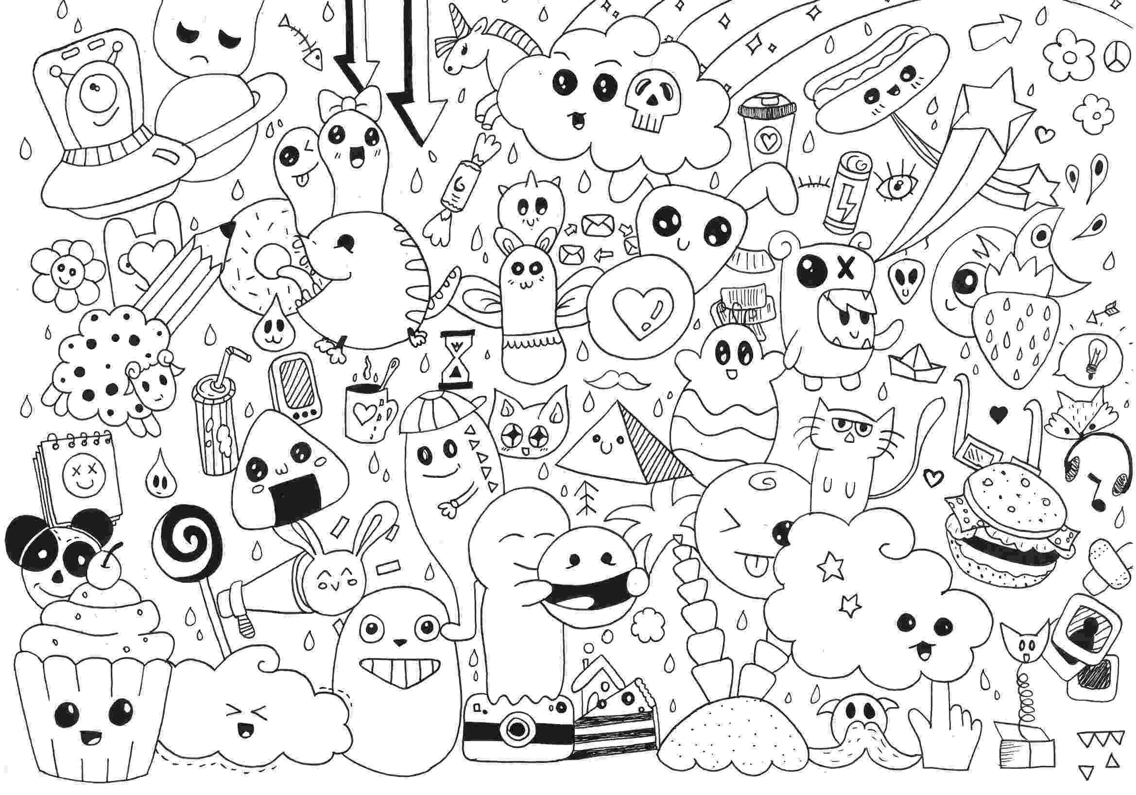 doodle art coloring book adult doodle art doodling 5 coloring pages printable art book coloring doodle