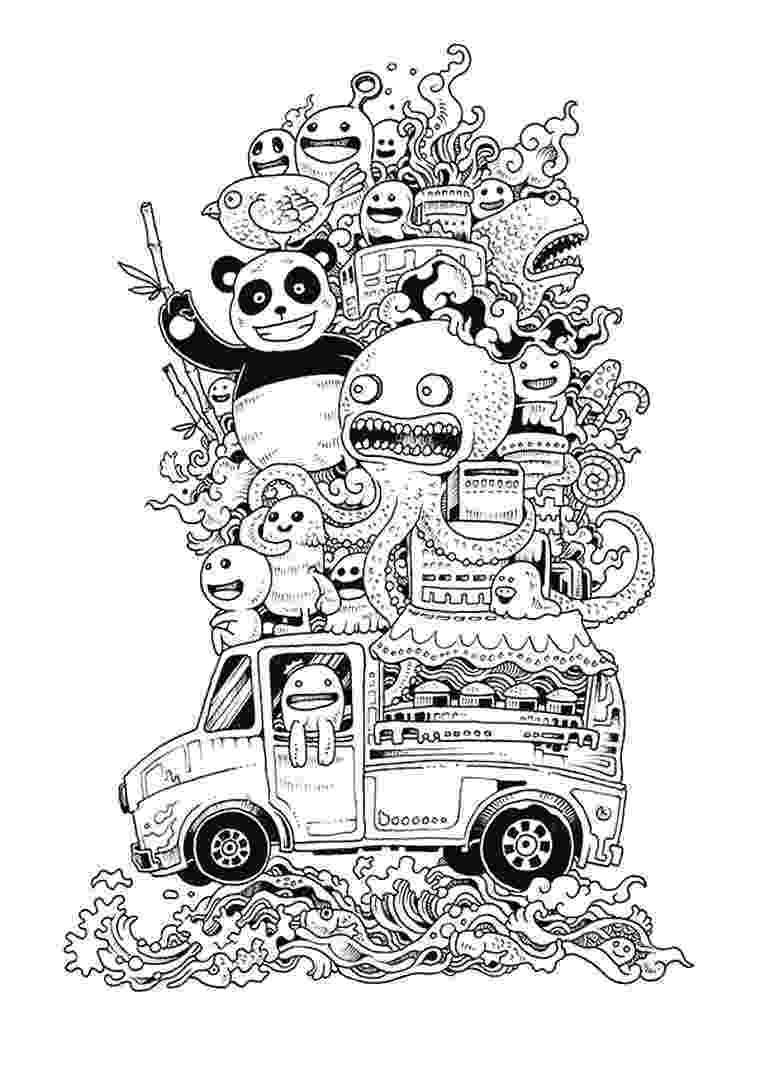 doodle art coloring book doodle art coloring pages free coloring pages doodle coloring book art doodle